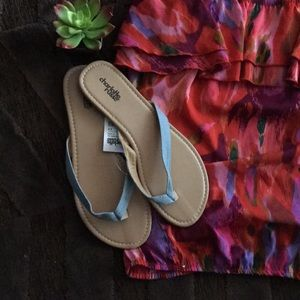 Jean Strap Sandals